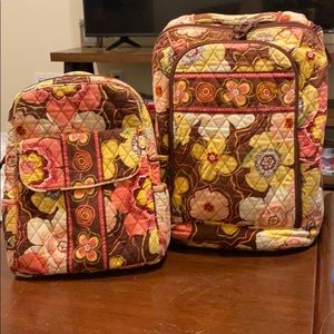 Vera Bradley small and big bag set